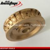 D150мм Diamond сегментированный профиля колеса для гранита камня