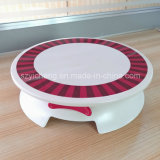 De ronde Draaibare Plastic Houder van de Cake
