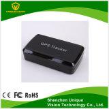 Bateria interna do perseguidor do GPS do carro com aplicação esperta do telefone