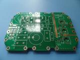 Circuito de PCB 2 Layer 0,8mm de espessura da placa com HASL terminado