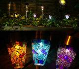 [لد] شمسيّ حديقة ضوء [سورليغت] 3 لون فسيفساء شمسيّ حديقة وتد منظر طبيعيّ ضوء مع ذاتيّة محسّ عمل لأنّ حديقة [فلووربد] ممشى فناء مرج [إسغ10199]