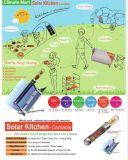 Forno de aquecedor de aquecimento solar para cozinha e acampamento