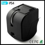 Adaptador de control de volumen de micrófono de auriculares para PS4 Juego de auriculares de 4 Vr de Playstation