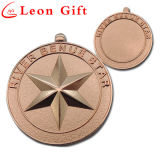 Wholesale Custom Zinc Alloy Sports Gold Medals for Championship