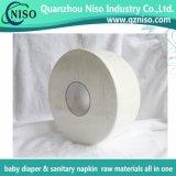 Tessuto superiore del rullo enorme del grado per la carta velina dell'involucro delle materie prime del pannolino del bambino