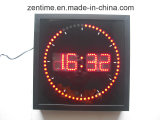 Le mur de LED carrés l'horloge numérique à prix d'usine