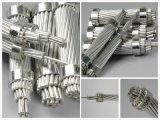 Fio de aço folheado de alumínio da costa de Acs do aço inoxidável para a linha de transmissão longa da extensão