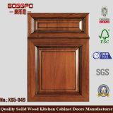 Porte de cabinet de cuisine Sapele Wood (GSP5-021)