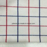 Colore rosso & tessuto blu delle lane dell'assegno per la mano protettiva