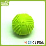 O animal de estimação Textured TPR da esfera brinca o produto do animal de estimação
