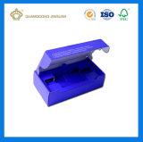 Impresión personalizada E-Flute caja de embalaje de cartón ondulado para electrónica (con bandeja interior)