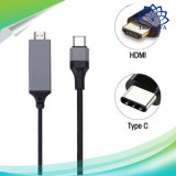 2m de 3m Omkeerbare Schakelaar USB 3.1 Type C van het Type C aan HDTV Kabel voor Kabels van de Telefoon van Samsung S8 Xiaomi Mi5 usb-c de Mobiele