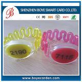 Niños disponibles de papel que siguen la pulsera médica de Bluetooth con la identificación de llamante