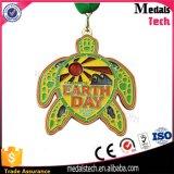 Hot Sale Guangdong Fournisseur 3D Petite sirène Médaille de natation en métal
