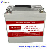batteria di litio 12V50ah LiFePO4 con vita più lunga 20years