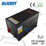 230V 5kwの純粋な正弦波力インバーター(FPC-D5000B)へのSuoer 24V