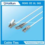 Serre-câble libérable de l'acier inoxydable 304 pour l'extérieur Using
