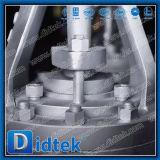 バイパス弁が付いているDidtek中国の工場ワームギヤ合金鋼鉄ゲート弁