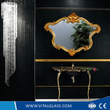 prata da decoração de 4mm/espelho livre do alumínio/cobre com Ce