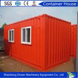 환경 가벼운 강철 프레임의 친절한 Prefabricated 콘테이너 집