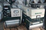 Le compacteur de rouleau de main, rouleau de route vibratoire, évaluent le rouleau vibrant