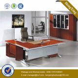 Bureau de bureau exécutif principal à la mode Metal Leg Design Wooden (NS-NW131)