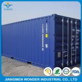 Rivestimento esterno blu della polvere per il rivestimento del contenitore