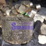 A velocidade horizontal de briquetes de cobre a máquina para reciclagem