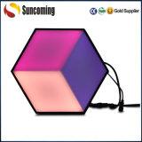 Luz artística de Hoenycomb de la pared del efecto de la visión de interior de la decoración 3D