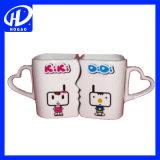 Супружеская пара в форме сердца кружка, керамические кружки, кружки кофе