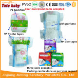 As fraldas para bebés com perfume em pó Perfume fraldas para bebé