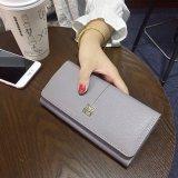 RFID преграждая функциональную повелительницу Запястье руки Бумажник с приложением застежки -молнии (7878)