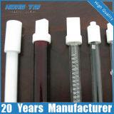 Aquecedor elétrico a prova d'água do tubo de vidro de fibra de carbono