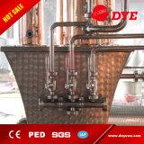 Placa de cobre rojo 4 Brandy Gin alcohol del whisky Aún destilería