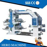 De Machine van de Druk van Flexo van de hoge snelheid voor Document, Film, Plastic niet Geweven Zak,