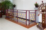 Balcon en acier galvanisé décoratif de haute qualité 20 de clôture d'alliage d'aluminium
