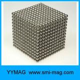 cube en aimant de 5mm pour des jouets d'aimant de gosses