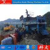金のトロンメルスクリーンの金の採鉱機械