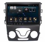 Mondeoの人間の特徴をもつシステム6.0車のDVDプレイヤーNavigation&GPSの9インチのタッチ画面