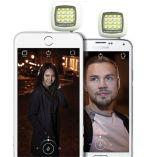 pour la lumière chaude d'instantané d'appareil-photo d'IOS et de vente 3.5mm Jack Selfie 16 DEL d'Andriod