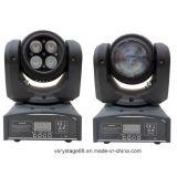 Testa mobile della doppia dei fronti mini LED dei lati 4*10W del doppio lavata del fascio