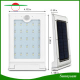 25 LED de energía solar inalámbrica Seguridad Exterior de la luz del sensor de movimiento para la pared del jardín Jardín Patio Pathway