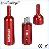 Memória USB em forma de garrafas de vinho (pendrive USB XH-078)