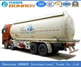 최신 판매 고품질 3axle 대량 시멘트 유조선 반 트레일러