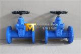Запорная заслонка утюга Ggg50 Nrs конца Pn25 дуктильная (Z45X-16Q)