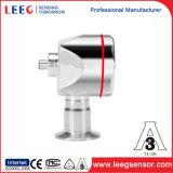 Sanitaria de alta temperatura del transductor de presión de diafragma