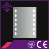 Jnh183 décoratif Rectangle Illuminating LED Salle de bain Argent Miroir pour Hôtel