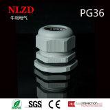 El tipo glándula de cable de nylon plástica, IP68 de la paginación impermeabiliza la glándula de cable del rectángulo de ensambladura