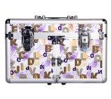 Hersteller-faltender kosmetischer Berufskasten mit 6 Tellersegmenten