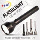 Aluminum&#160 extérieur ; Lampe-torche rechargeable 3/5/10W du CREE DEL de lumière de torche